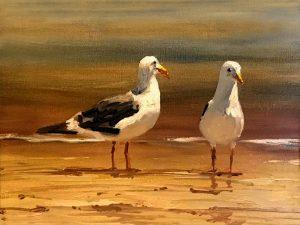 Hagans' Sea Birds